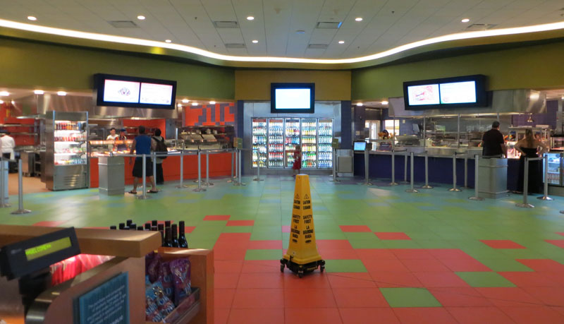 Art Of Animation Food Court Review