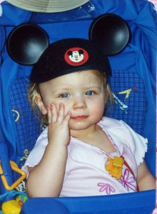 Hayley one at Disneyland a